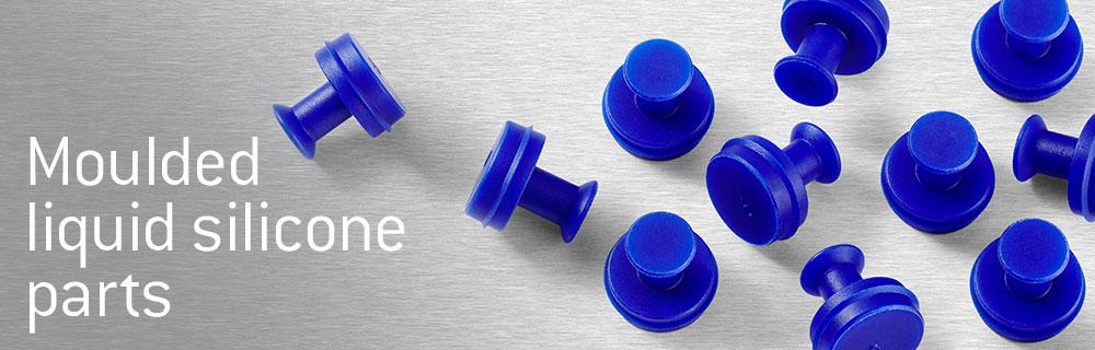 Moulded liquid silicone parts