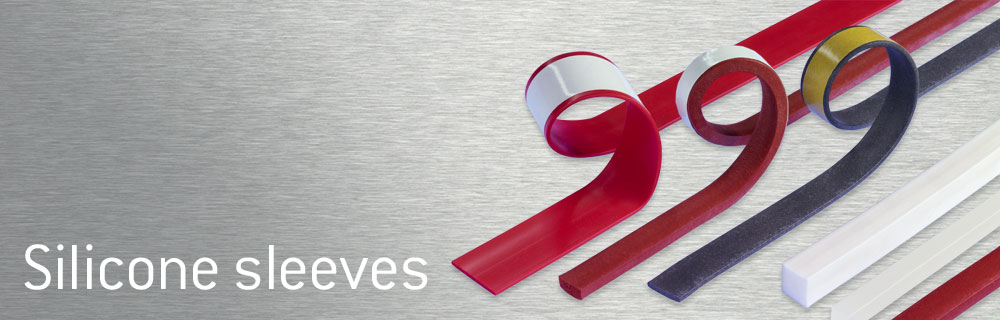 Silicone sleeves